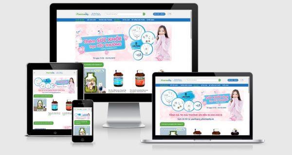 Theme Wordpress nhà thuốc giống PharmaCity