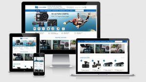 Theme Wordpress bán camera, điện máy, công nghệ Camera4U