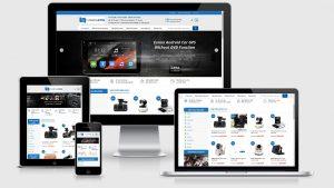 Theme Wordpress bán camera, điện máy, công nghệ mẫu số 4