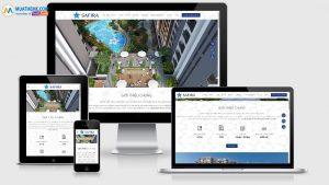Theme Wordpress dự án bất động sản mẫu số 17 - Safira