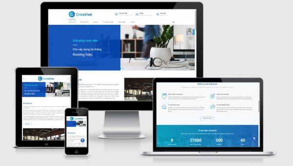 Theme Wordpress công ty truyền thông, marketing, thương hiệu
