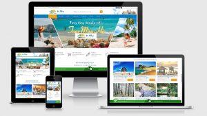 Theme Wordpress bán tour du lịch mẫu số 3