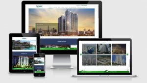 Theme Wordpress giới thiệu công ty bất động sản Capital Land
