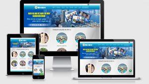 Theme Wordpress giới thiệu công ty dịch vụ bảo vệ mẫu số 1