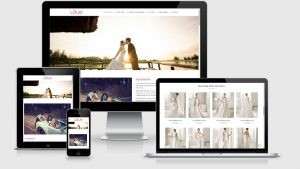 Theme Wordpress studio ảnh cưới, váy cưới đẹp tuyệt vời