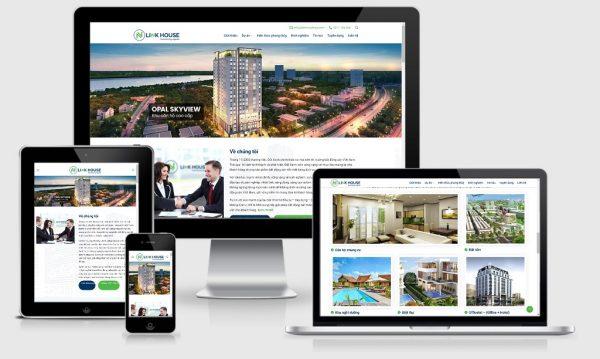 Theme Wordpress bất động sản nhiều dự án mẫu số 19
