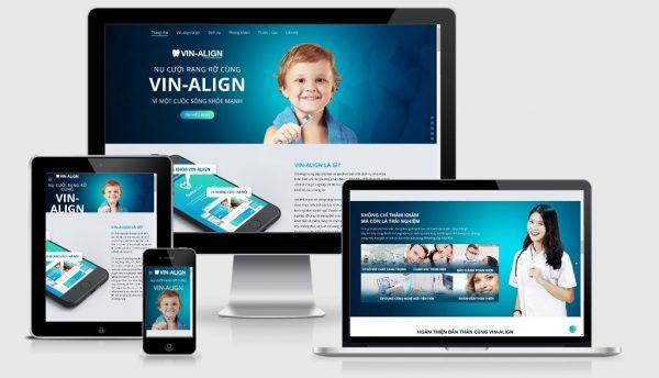 Theme Wordpress giới thiệu phòng khám nha khoa, nha sỹ