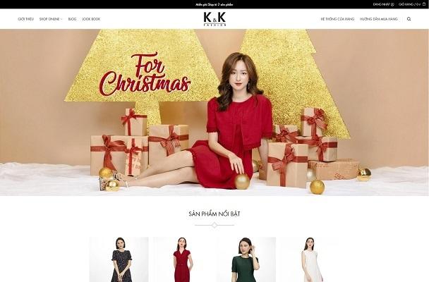 Theme WordPress thời trang mẫu số 7 - KK Fashion